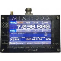 MINI1300 Antenna Analyzer  0.1-1300MHz  LCD Dokunmatik ekran